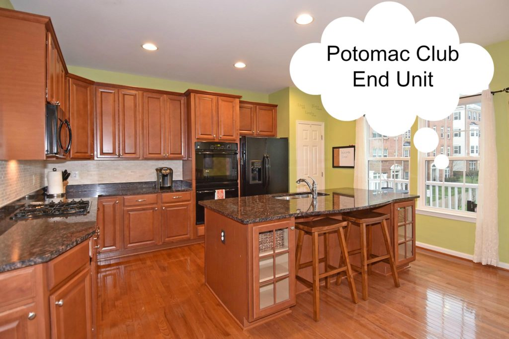 Potomac Club End Unit