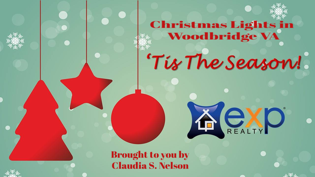 Christmas Lights in Woodbridge VA 2018